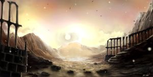 Ascalon Foothills by Changinghand