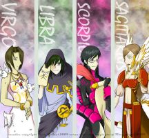 Ouran Zodiac Bookmarks ser.1 by PixelMagus