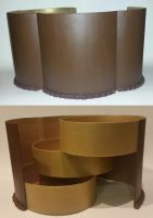 Tripple Layer Chocolate Cake Box Front/Back by ninja2of8