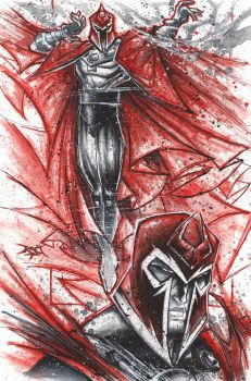 Commish 79 Magneto Noir by RobDuenas