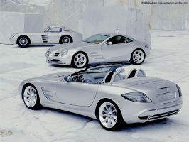 Mercedes Benz SLR 02 by FreeWallpapers