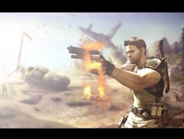Resident Evil 5 Wallpaper by igotgame1075