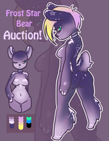 Star Frost Bear Auction ClOSED by Gokai-Chibi