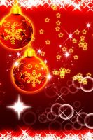 iphone christmas wallpaper 9 by galaxark