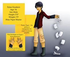 Paper Master -Revamp- by Underground-Heroes