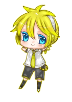 Kagamine_Len_Chibi by Hyeong59
