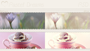 Pastel Dreams - Psd by SoeriRukz