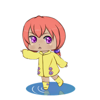 raincoat chibi 2 by Lilyhum