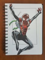 Day 95 Spiderman Miles Morales by TomatoStyles