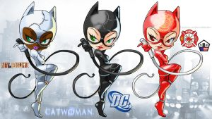 CatWoman Sets by Darkness1999th