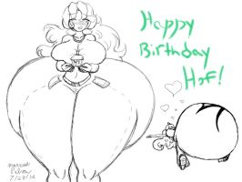 Hof Bday Sketch by Anubis2Pabon288