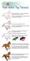 Pixel Horse Tutorial by Falloway
