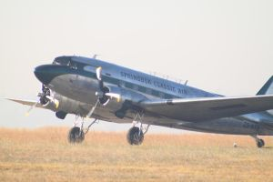 C-47 Dakota taxiing by Rooivalk1