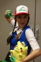 Pokemon Trainer Ash by xCaptainxNemox