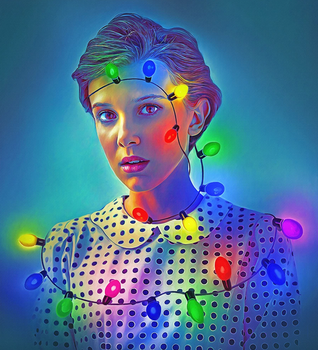 Eleven from Stranger Things by NickyBarkla