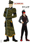 AT- Humanized Lichwierg and Fiat by MetalWolfGemstone