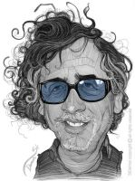Tim Burton Caricature by StDamos