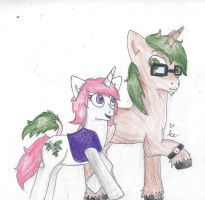 Gift: Snowlilly and Willow by Jackal-Sandwich