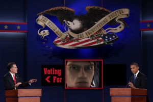 Anakin voted for Romney by Chrisily