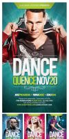 Dancequence Flyer Template by EAMejia