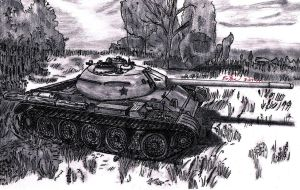 T-54 by TimSlorsky