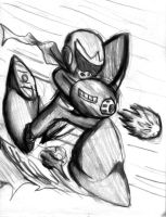 Protoman Attack by Fragraham
