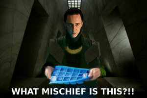 Loki has a confuse by GrimSister