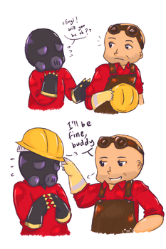 TF2 : I'll be fine, buddy by shykasumi5