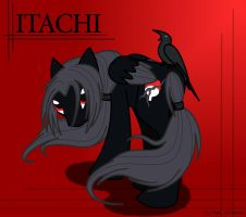 Itachi MLP by Straasha-14