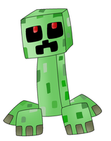 Oh Look, Its a Creeper! :D by Zoruaofepic