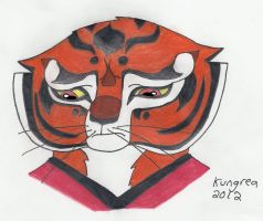 Sad Tigress by Kungrea