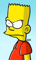 Bart Simpson by theEyZmaster