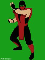 Ermac Vector by mattyboosh
