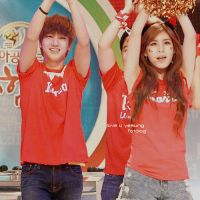 Qri Yesung go reds by SujuSaranghae