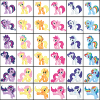 MLP FiM Changes by rainbow3972