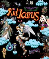 Kid Icarus: Angel Land Story by goettindernatur
