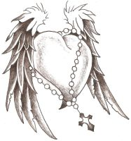 Heart Wings 1 by TheLob
