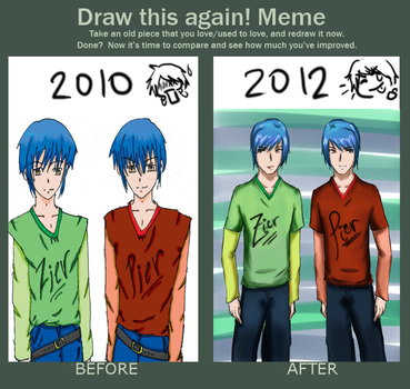 Before and after by xiseanhirosex