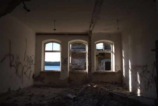 Urban Ruins - Abandoned room by Very-Free-Stock