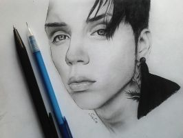 Andy Biersack by SofiaAliens