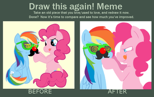 Draw This Again! Meme by FrogAndCog