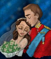William and Kate -Mch10Colour- by Artemismoon12