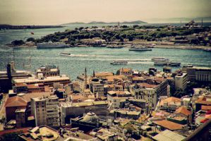 Galata Tower II by Monotrooper