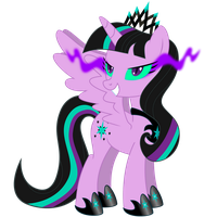 The New Princess Twivine Sparkle by DashieMLPFiM