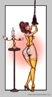 Lumiere, wax artist by Lilith-Fetish