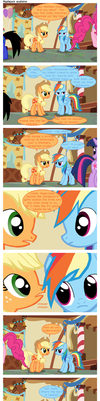 Applejack explains by TheLastGherkin