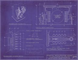 Steampunk Portal Blueprints by rsandberg