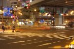 Tokyo TaitoUeno Cross at Night by ChristianG