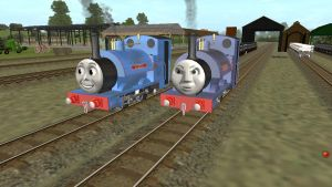 The Two Falcon Works Engines by Sergeant-Sunflower