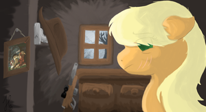 Applejack's Failure by Norse98